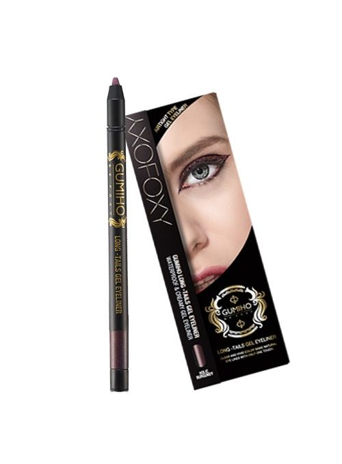 Long-Tails Gel Eyeliner Burgundy