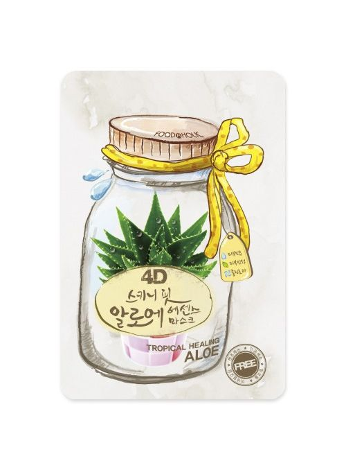 4D Skinny Fit Aloe Essence Mask