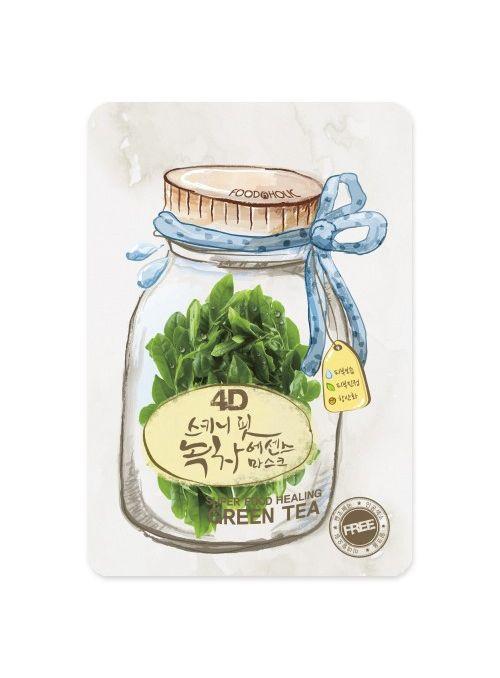 4D Skinny Fit Green Tea Essence Mask