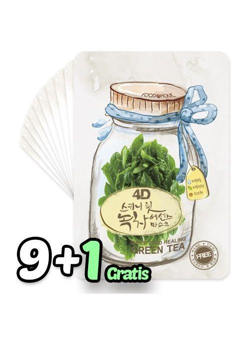 4D Skinny Fit Green Tea Essence Mask Pack