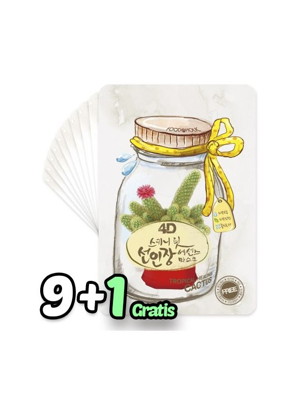 4D Skinny Fit Cactus Essence Mask Pack