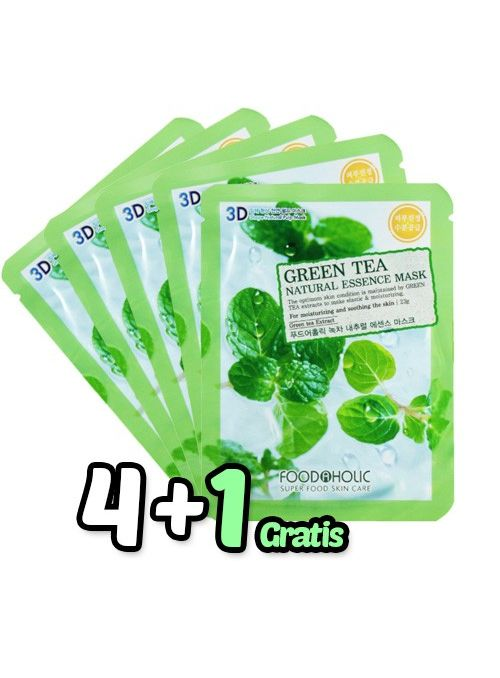 Té Verde Essence Mask Pack