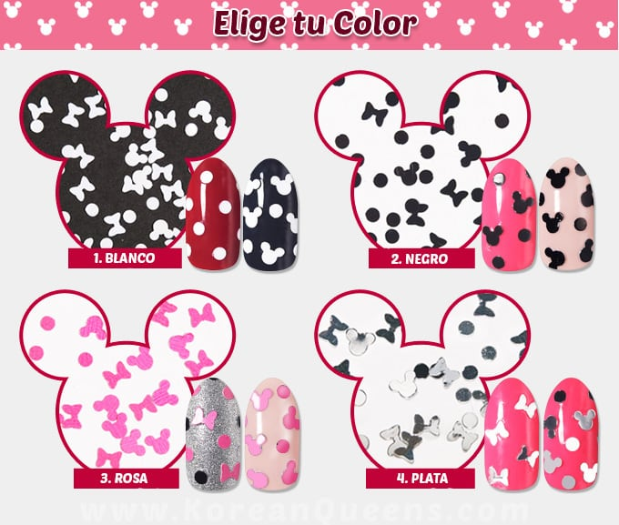 Minnie in the Nail Glitter Etude House