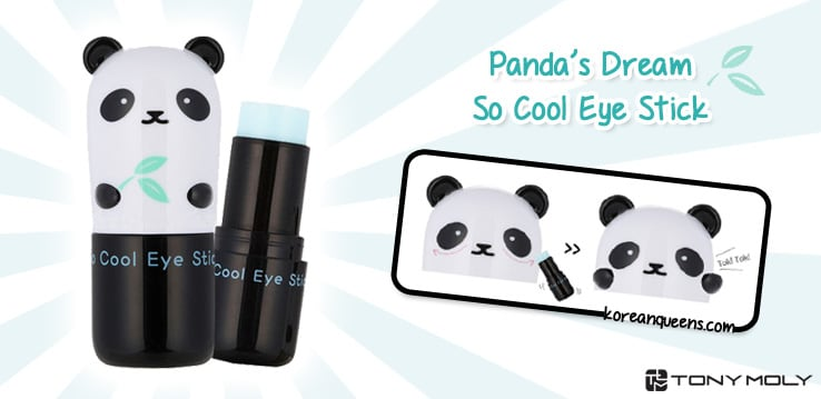 Tony Moly Pandas Dream So Cool Eye Stick Is An Serum That Moisturizes And Brighten The Delicate Skin Around Area It Brings Instant Cooling