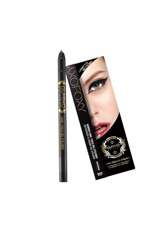Long-Tails Gel Eyeliner Black