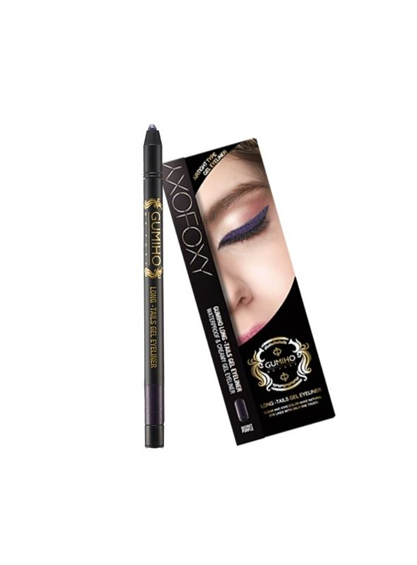 Long-Tails Gel Eyeliner Purple