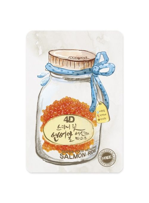 4D Skinny Fit Salmon Roe Essence Mask