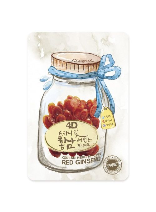 4D Skinny Fit Red Ginseng Essence Mask