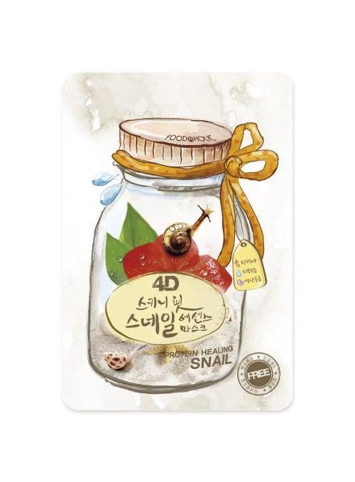 4D Skinny Fit Snail Essence Mask