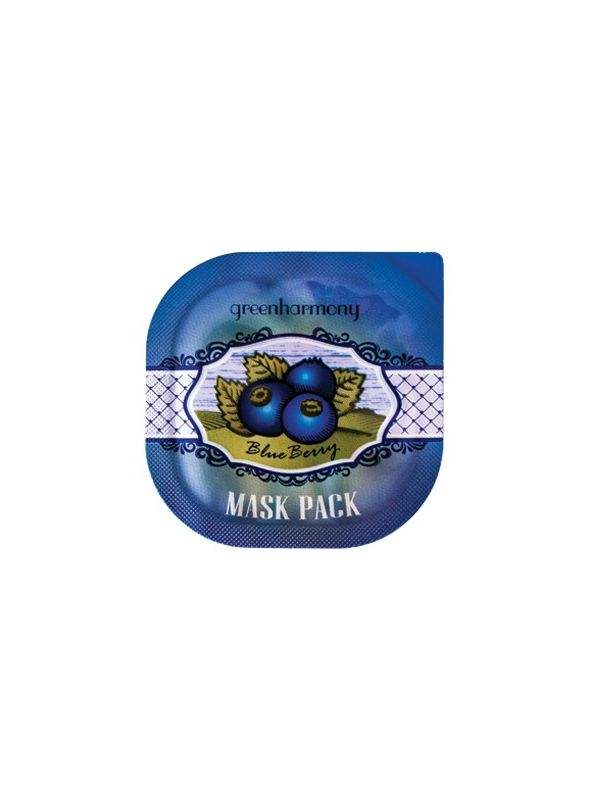 Green Harmony Blueberry Mask Pack