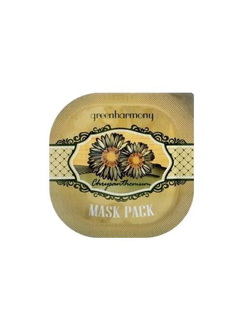Green Harmony Chrysanthemum Mask Pack
