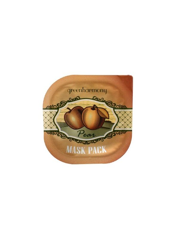 Green Harmony Pear Mask Pack
