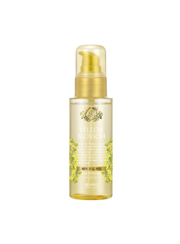 Yellow Blossom Hair Oil Serum
