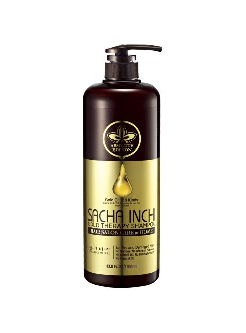 Sacha Inchi Gold Therapy Shampoo