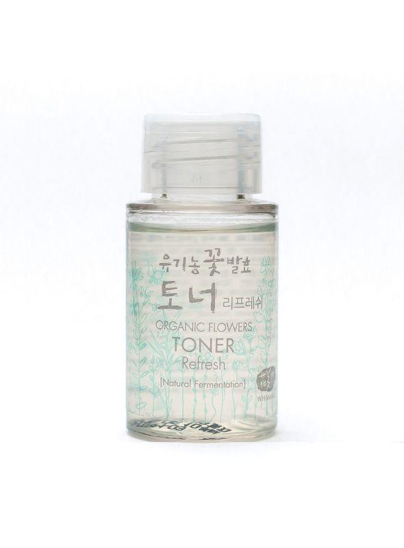 Organic Flowers Toner - Refresh Mini
