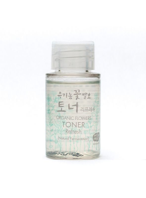 Organic Flowers Toner - Refresh Mini