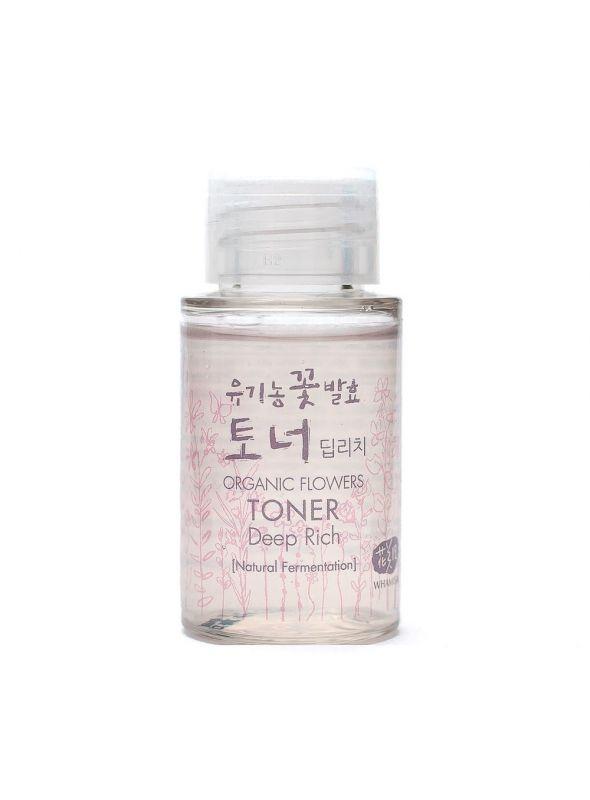 Organic Flower Natural Fermented Toner - Deep Rich