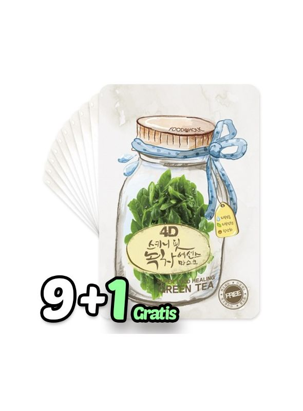 4D Skinny Fit Green Tea Essence Mask