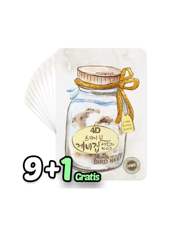 4D Skinny Fit Bird Nest Essence Mask