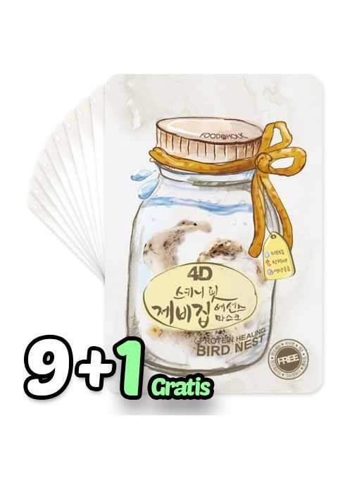4D Skinny Fit Bird Nest Essence Mask Pack