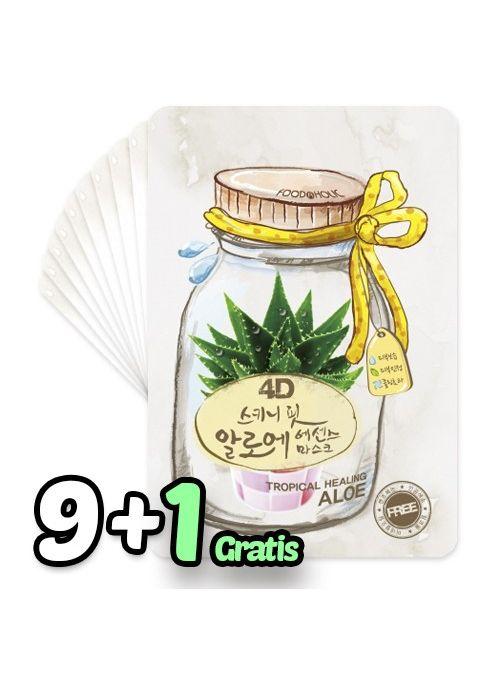 4D Skinny Fit Aloe Essence Mask Pack