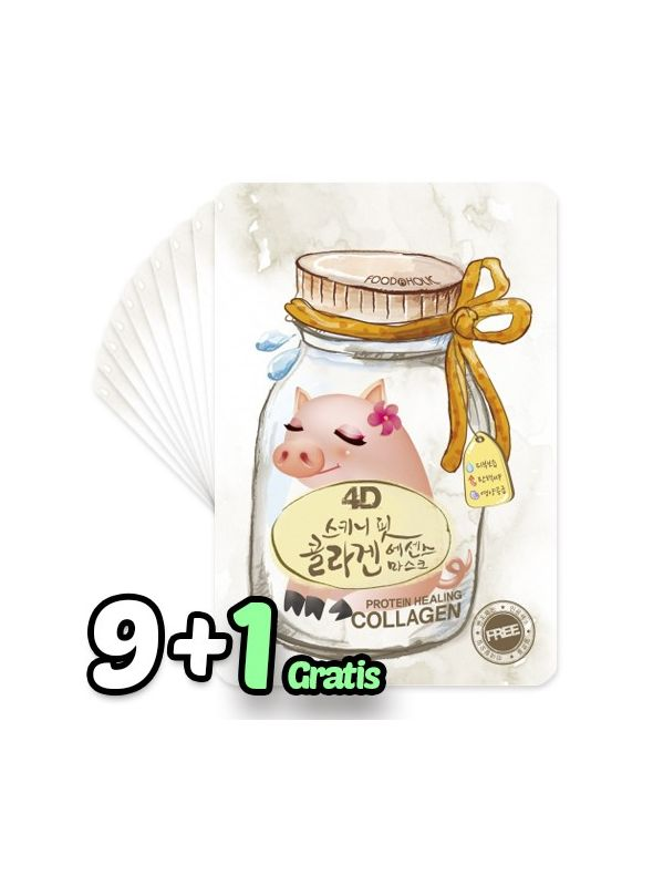 4D Skinny Fit Collagen Essence Mask Pack