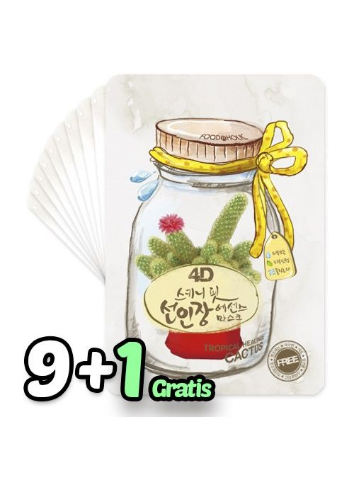 4D Skinny Fit Cactus Essence Mask