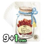 4D Skinny Fit Red Ginseng Essence Mask Pack