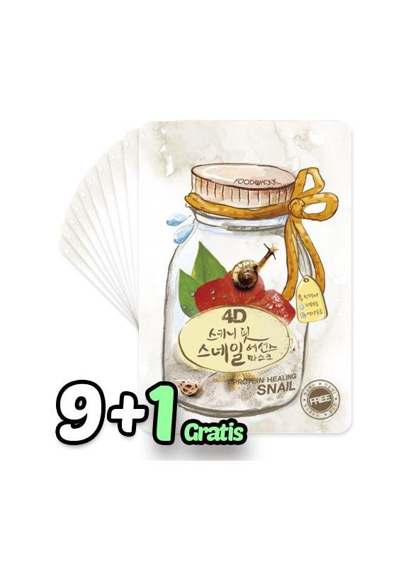 4D Skinny Fit Snail Essence Mask Pack