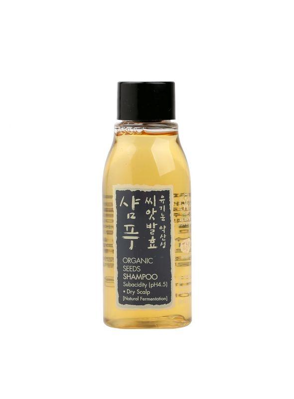 Organic Seeds Shampoo - Dry Scalp Travel