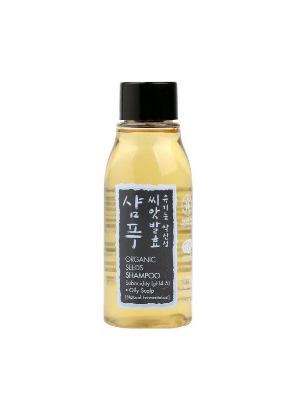 Organic Seeds Shampoo - Oil Scalp Travel