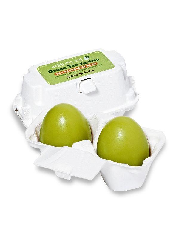 Egg Soap Green Tea