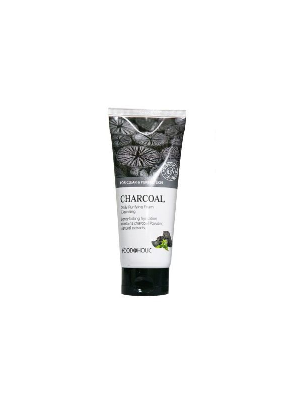 Purifying Charcoal Foam Cleasing