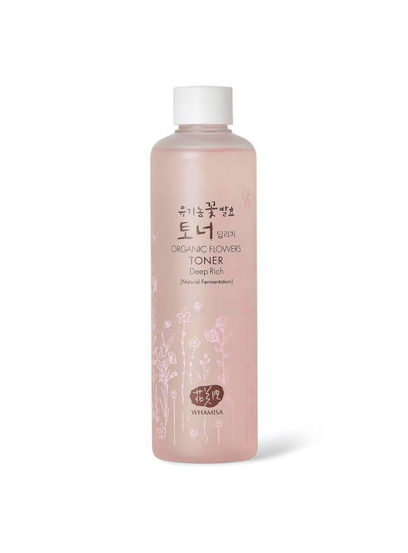 Organic Flowers Toner - Deep Rich 300ml
