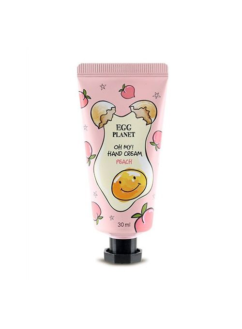Egg Planet Oh My! Hand Cream Peach