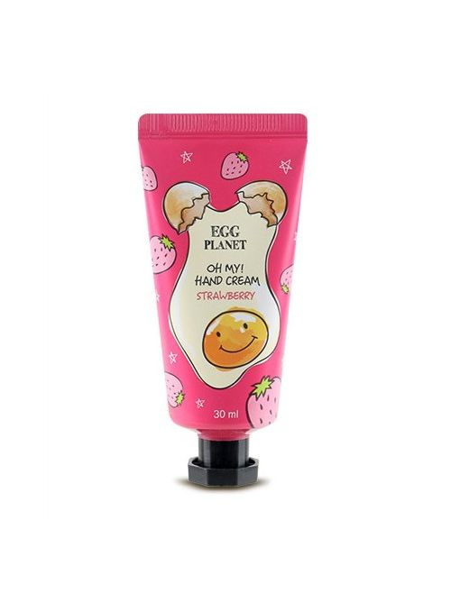 Egg Planet Oh My! Hand Cream Strawberry