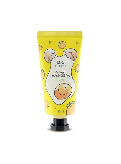 Egg Planet Oh My! Hand Cream Yuja