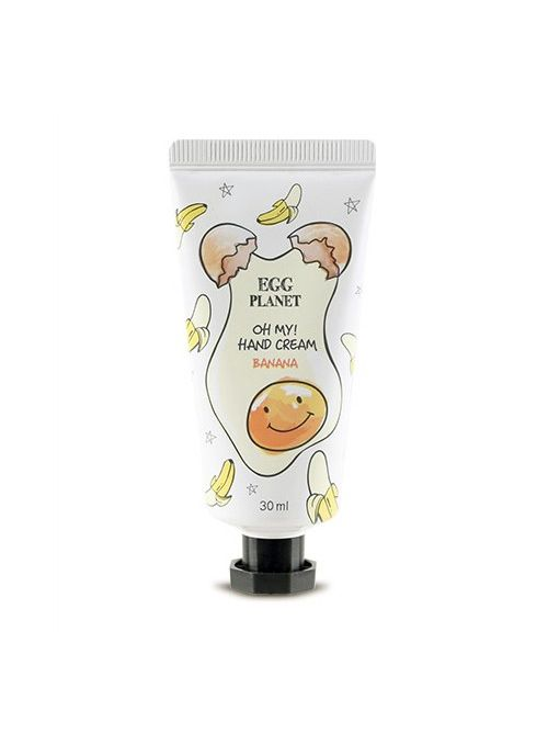 Egg Planet Oh My! Hand Cream Banana