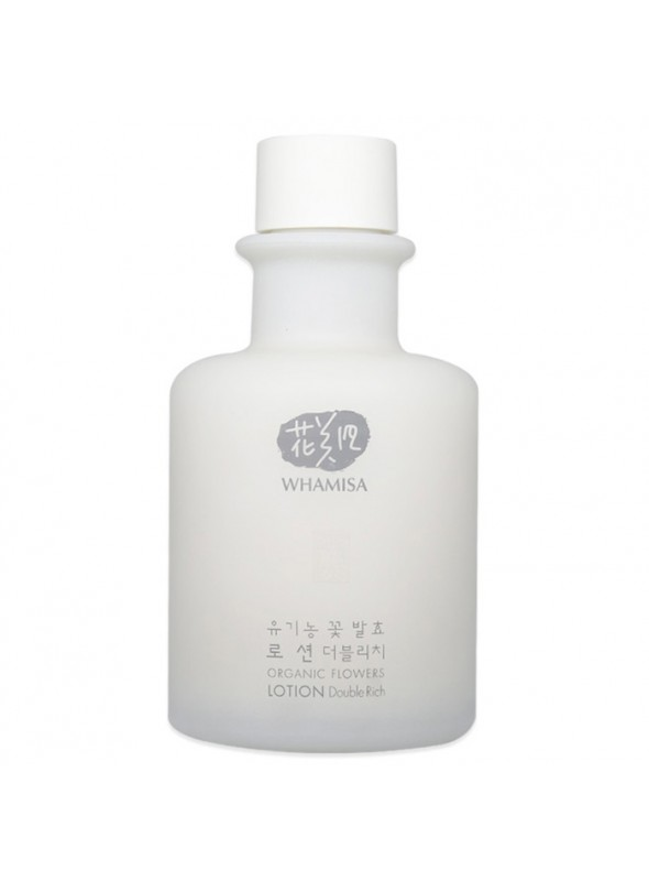 Organic Flowers Lotion - Double Rich