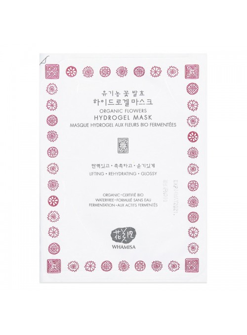 Organic Flowers Hydrogel Sheet Mask