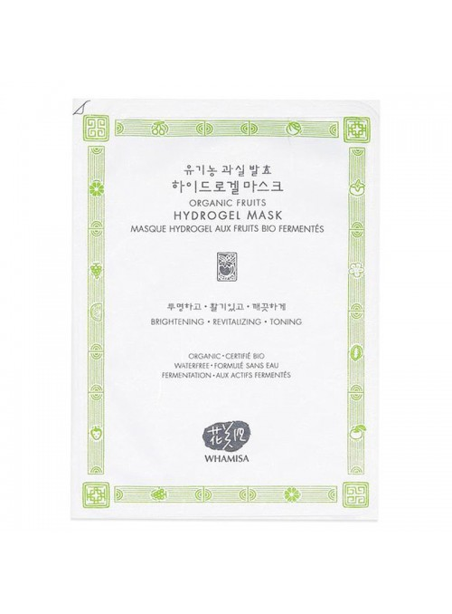 Organic Fruits Hydrogel Sheet Mask