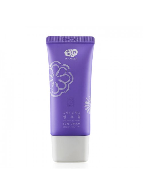 Organic Flowers Sun Cream SPF50 PA++++