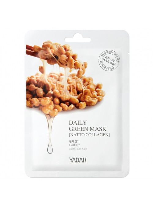 Daily Green Mask Natto Collagen