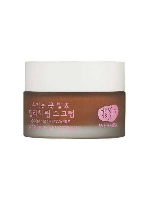 Organic Flowers Deep Rich Lip Scrub