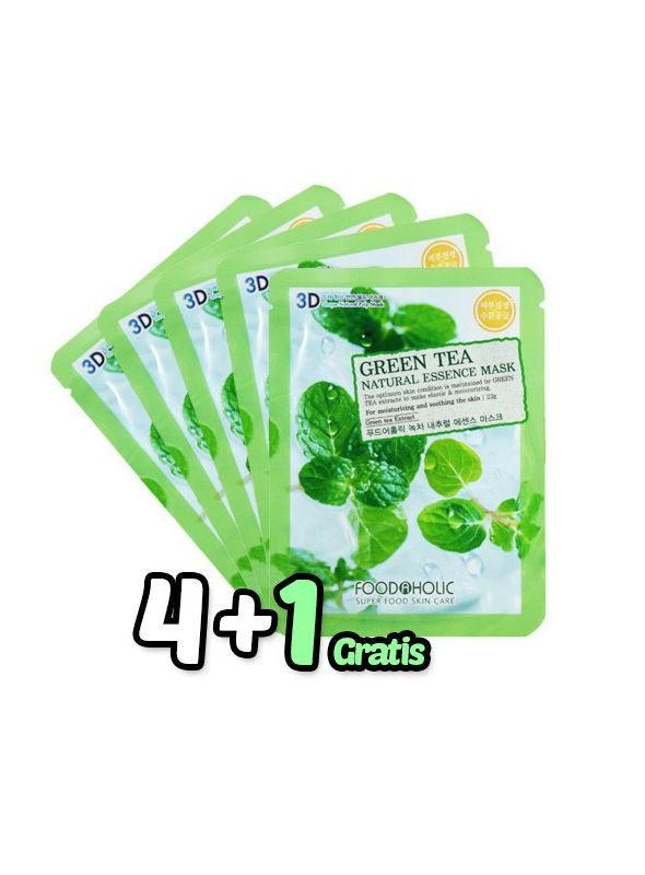 Té Verde Essence Mask Pack