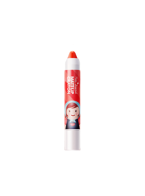Petit Friend Matt Lip Crayon OR01
